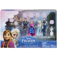 La Reine des Neiges - Coffret de 6 figurines - multicolore