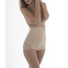 Panty correctif taille haute - beige