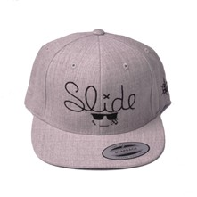 Casquette Snapback Slide - gris chine