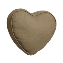 Coussin - marron taupe