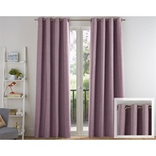 Rideaux occultants 340 g/m² - lilas