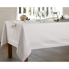 Nappe blanche chic - blanc