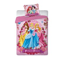 Disney princess - Parure de lit - rose