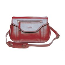 Gerry - Sac en cuir - rouge carmin