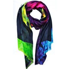 Gold and Fish - Foulard - multicolore