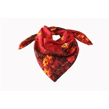 Red Anima - Foulard en soie - rouge