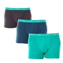 Coton Stretch - Pack de 3 boxers - bicolore