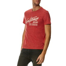 Wordmark Graphic - T-shirt - rouge