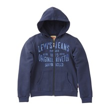 ZIPPER NOS - Sweat à capuche - bleu marine