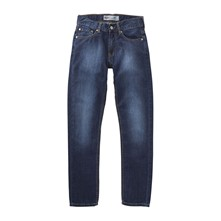 508 - Jean tapered - bleu brut