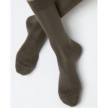Chaussettes 100% Soie - taupe