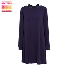 Loungewear Uniqlo - Robe tunique - bleu marine