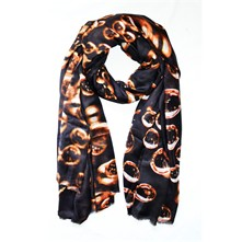 Bubbles Champagne gold - Foulard