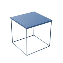 Table de chevet Kube - bleu
