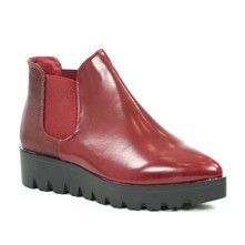 Bottines - rouge