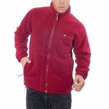 Gilet polaire - rouge