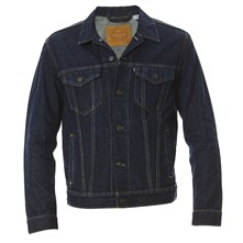 Trucker - Manteau/blouson/Impermeable - denim bleu