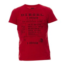 T-Diego-Fz - T-shirt - rouge