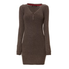 Robe pull - gris chine