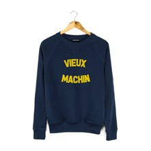 Sweat Vieux Machin - Sweat polaire - bleu marine