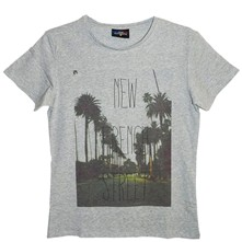 French Street - T-shirt en coton col rond