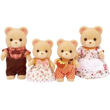 Sylvanian - Peluches Famille ours - multicolore