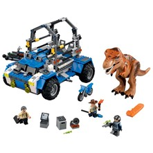 Jurassic - Kit poursuite du T-Rex - multicolore