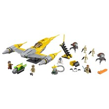 Star Wars - Reconstitution du Naboo Starfighter - multicolore