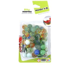 Plaquettes de billes assorties - multicolore