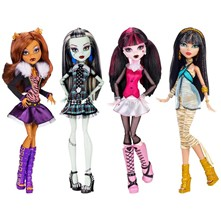 Figurine Monster High Classique - multicolore