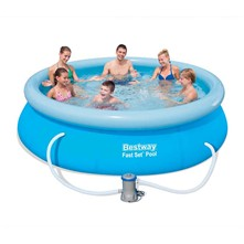 Kit de piscine gonflable - multicolore