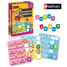 Nathan - Premières additions - multicolore