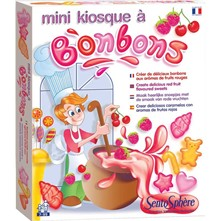 Mini kiosque à bonbons - multicolore