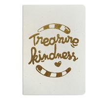 Tresaure Kindness - Carnet paillettes - or
