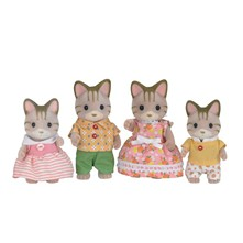 Sylvanian families - Famille chat - multicolore