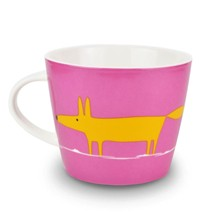 Mug en porcelaine - rose