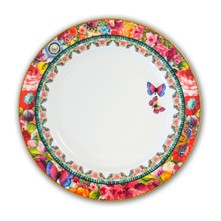 Eliza - Assiette plate - multicolore