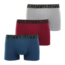 Easy Chic - Lot de 3 boxers - gris