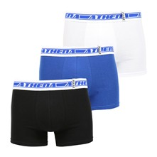Pulse - Lot de 3 boxers - tricolore