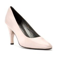 Moon - Escarpins cuir nappa talon pliable et rétractable - rose