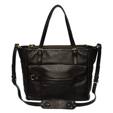 Elysa - Sac shopping - noir