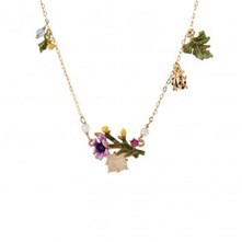 Floraisons sauvages - Collier - multicolore