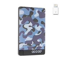 Chargeur nomade design Camouflage pour Smartphone - bleu