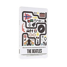 Chargeur nomade design The Beatles pour Smarphone - blanc