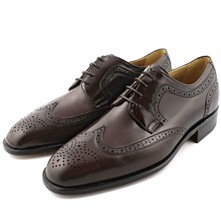 Holding - Derbies en cuir - marron
