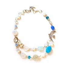 Delicatesse - Collier - bleu