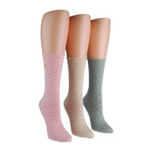 Sized roll top pack - Lot de 3 paires chaussettes - corail