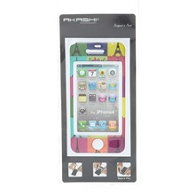 Sticker pour Iphone 4 - multicolore