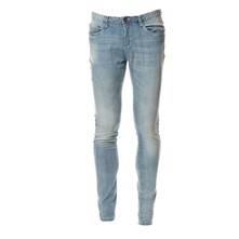 SOHO SKIRTY - Jean slim - bleu délavé