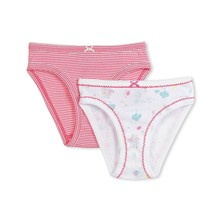 Lot de 2 culottes - rose